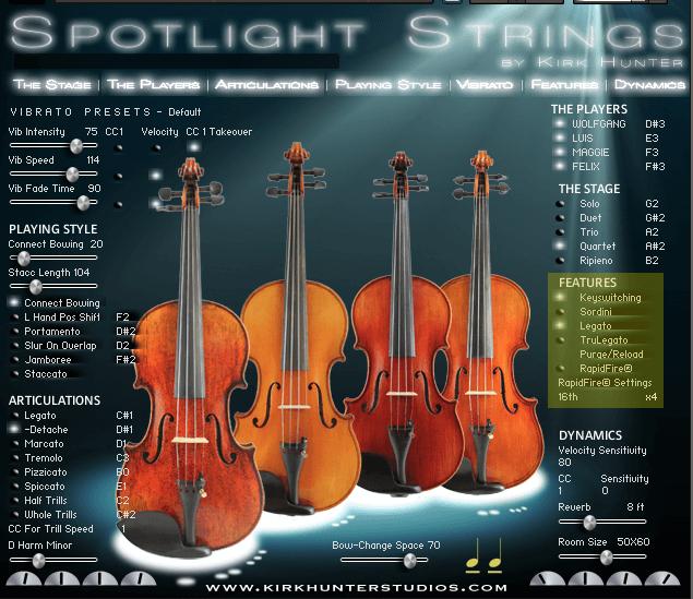 Spotlight Solo Strings