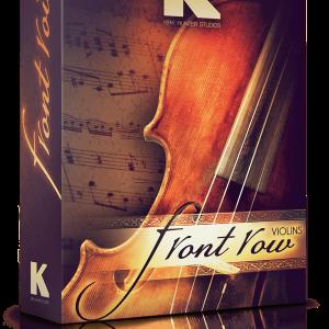 front row violins kirk hunter studios